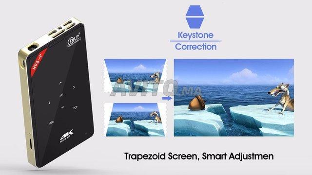 Projecteur H96 P DLP Mini 4K  2-16GB Android 9.0  - 4