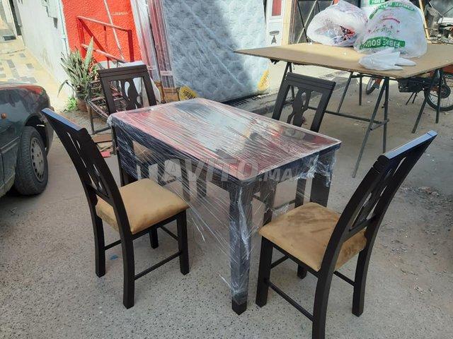 Les salle à manger en bois Hettre à Témara - 6