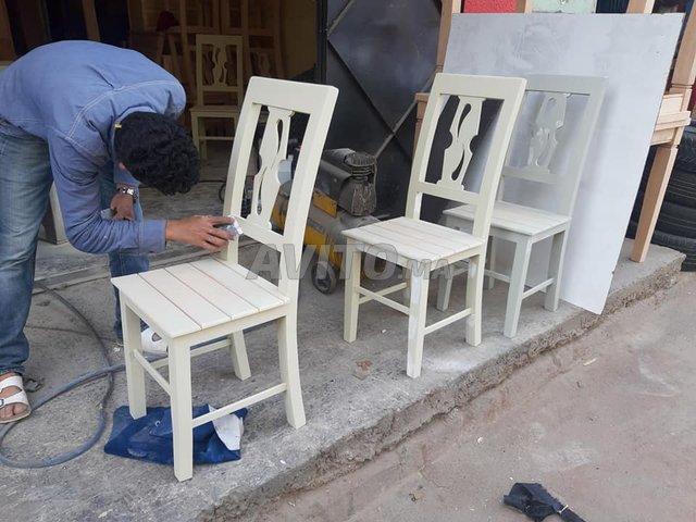 Les salle à manger en bois Hettre à Témara - 4