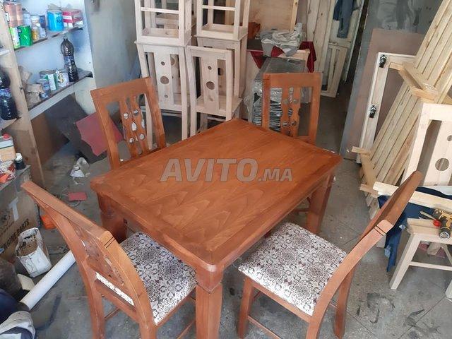 Les salle à manger en bois Hettre à Témara - 1