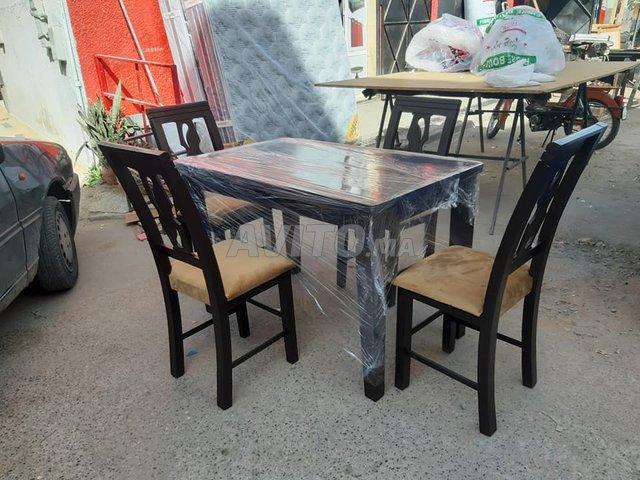 Les salle à manger en bois Hettre à Témara - 3