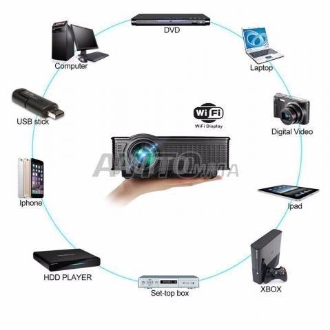 WIFI Videoprojecteur HD VGA HDMI Neuf - 3