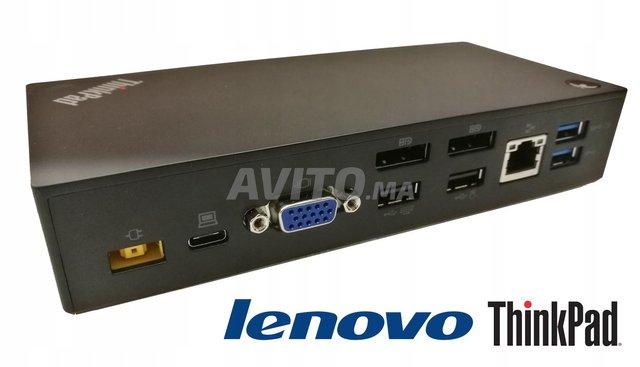 Station d'accueil ThinkPad USB-C Dock 40A9 NEUF - 1