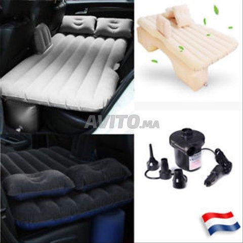 Matelas gonflable de lit de voiture de voyage - 4