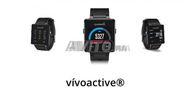 Montre Connectée Garmin Vivoactive Noire - 4