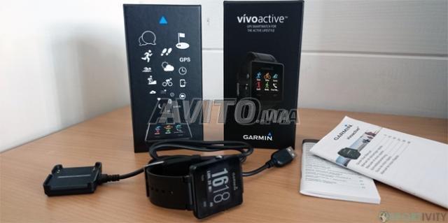 Montre Connectée Garmin Vivoactive Noire - 1