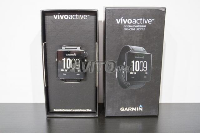 Montre Connectée Garmin Vivoactive Noire - 5