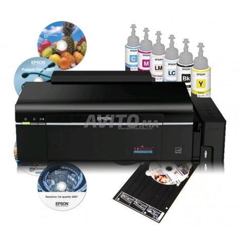 imprimante Epson L805 photo impression - 1