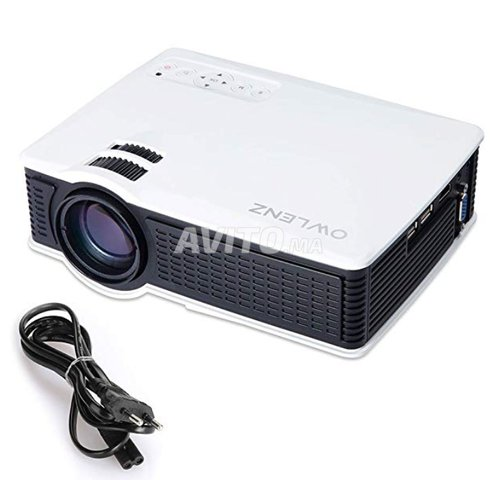 LED Projecteur HDMI/VGA/USB/AV/SD SD50 Plus - 1