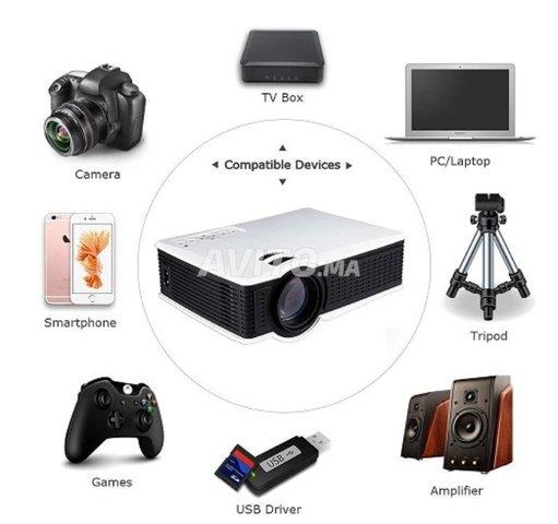 LED Projecteur HDMI/VGA/USB/AV/SD SD50 Plus - 2