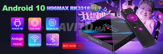 H96 MAX 4k 4G/32GB ANDROID 10 - 5