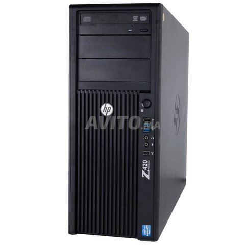 HP Z420 Workstation MT Xeon Ram 8GB HDD 500GB - 2