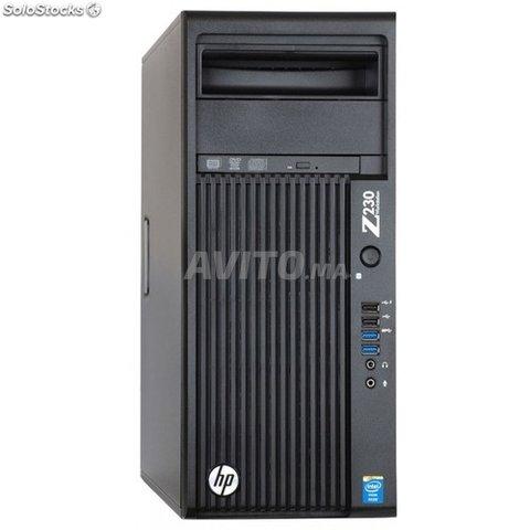 HP Z230 Workstation MT Xeon Ram 8GB HDD 500GB - 1