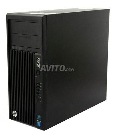 HP Z230 Workstation MT Xeon Ram 8GB HDD 500GB - 2