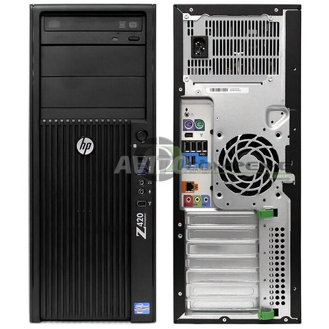 HP Z420 Workstation MT Xeon Ram 8GB HDD 500GB - 1