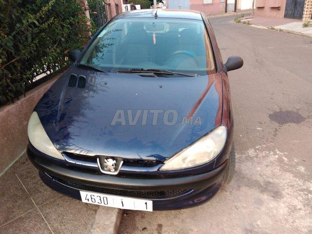 Voiture Peugeot 206 2000 à kénitra  Essence