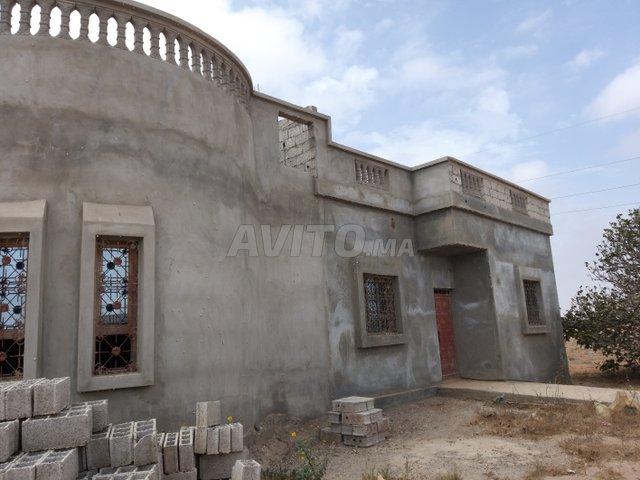 Terrain 5000m2 avec villa grands œuvre à Belfaa - 2
