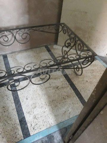 table fer forgé pour jardin et terrasse - 3