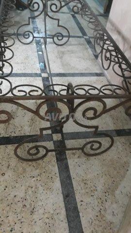 table fer forgé pour jardin et terrasse - 5