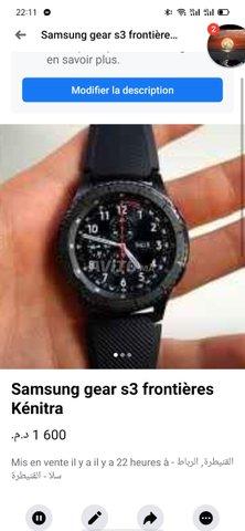 Samsung gear s3 frontières - 1