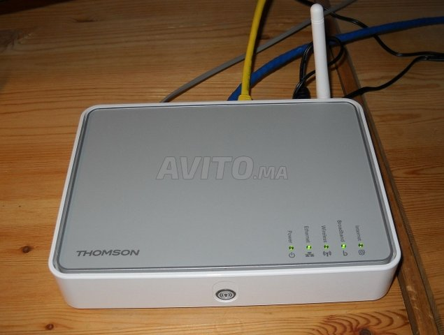 Router Thomson TG585 - 1