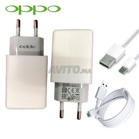 Oppo Chargeur Oppo Vooc 5V Avec Cable Micro Usb - 1