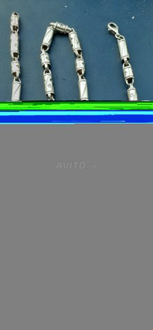 Collier on argent (100 gramme) - 1