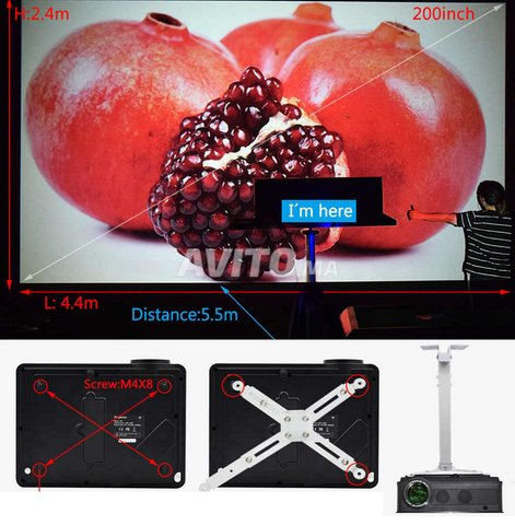 OWLENZ SD300 Professional Projecteur 1080P WIFI - 6