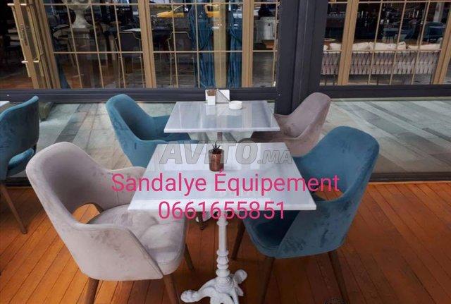offres chaises et tables cafés - 1