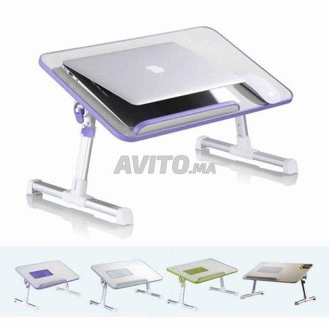 Table de Laptop Réglable avec Ventillateurs - 5