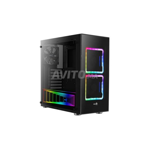 Boitier Gamer Aerocool TOR RGB Noir NEUF - 3