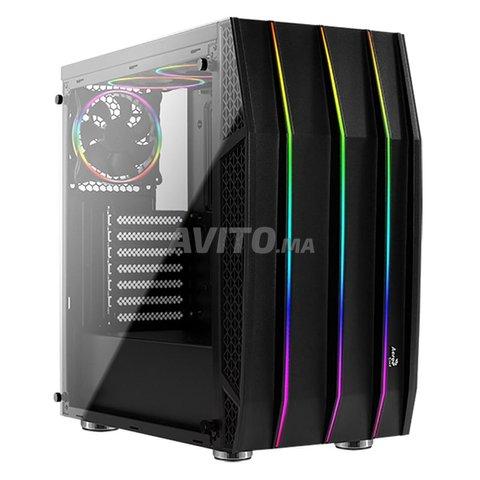Boitier Gamer Aerocool Klaw RGB Noir NEUF - 1