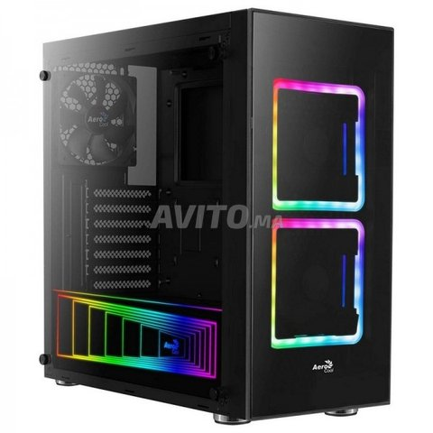 Boitier Gamer Aerocool TOR RGB Noir NEUF - 1