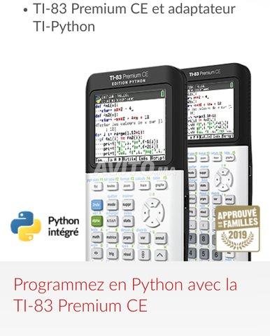 Calculatrice Texas Instruments TI-83 Premium CE - 1