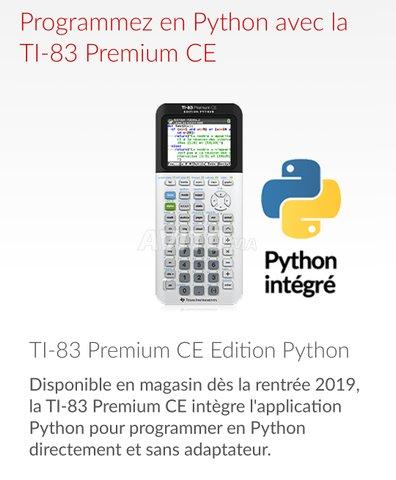 Calculatrice Texas Instruments TI-83 Premium CE - 4