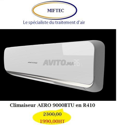 Climatiseur AERO 9000btu en R410 - 1