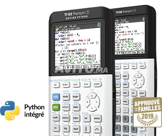 Calculatrice Texas Instruments TI-83 Premium CE - 3