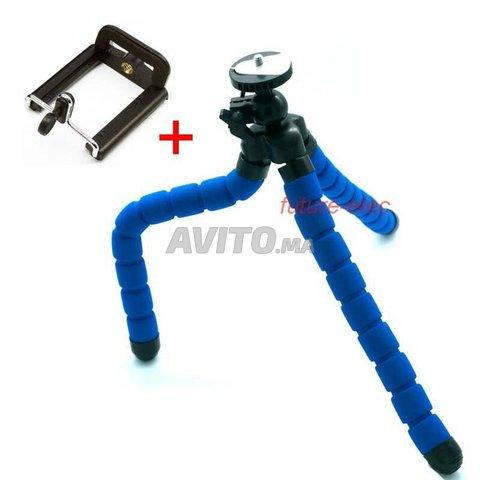 Trepied tripod flexible 360 -bleu - 2