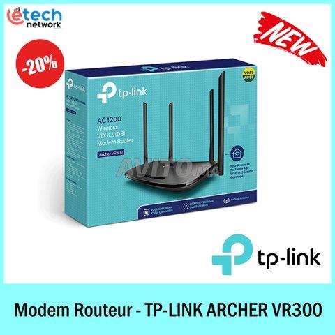 TP-LINK ARCHER VR300 - Modem Routeur Double bande  - 1