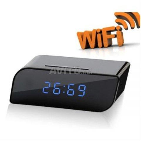 Réveil Caméra HD Avec WiFi - B8 - 1