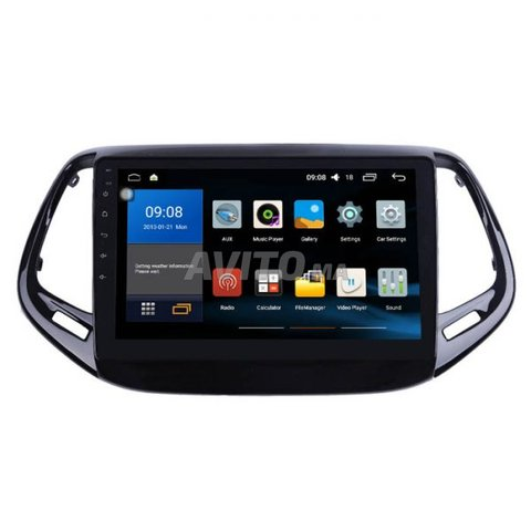 Poste radio ecran tactile android jeep compass - 3