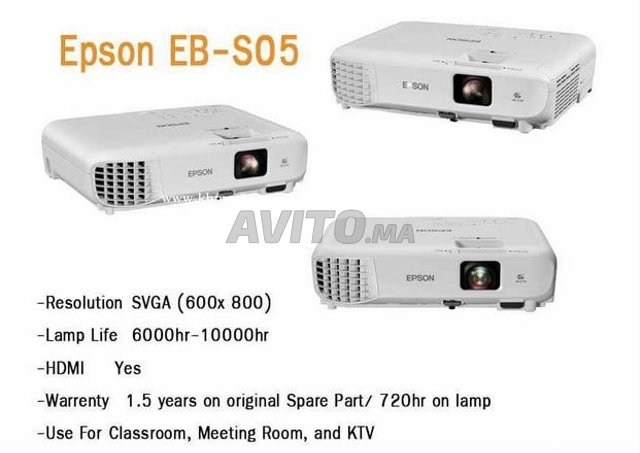 Epson EB-X05 VIDÉO PROJECTEUR  3200LM - 3