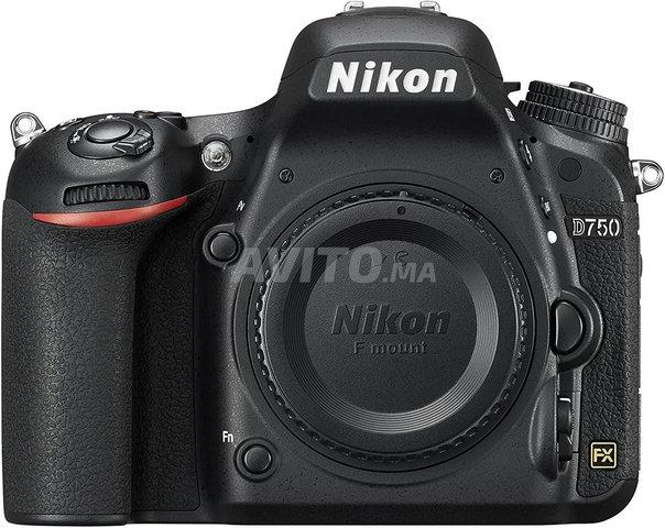 Nikon D750 FX-format Digital SLR Camera Body - 1