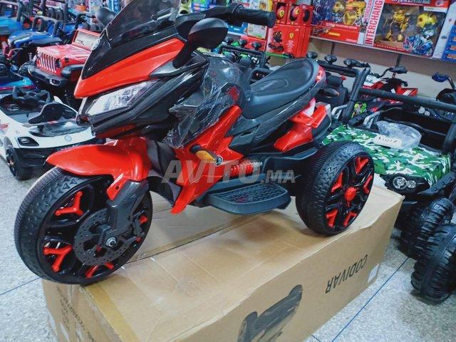 دراجة كهربائية للاطفال ب 3 عجلات  Moto  - 4