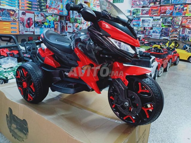 دراجة كهربائية للاطفال ب 3 عجلات  Moto  - 6