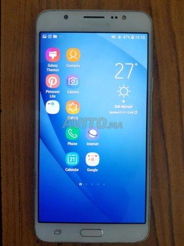 Samsung Galaxy J7 2016 - 16G - Dual SIM - Blanc - 1