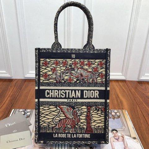 Dior Vertical book tote Bag  - 4