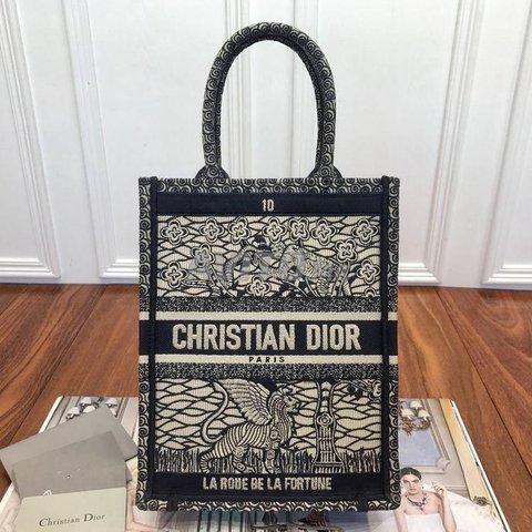 Dior Vertical book tote Bag  - 5