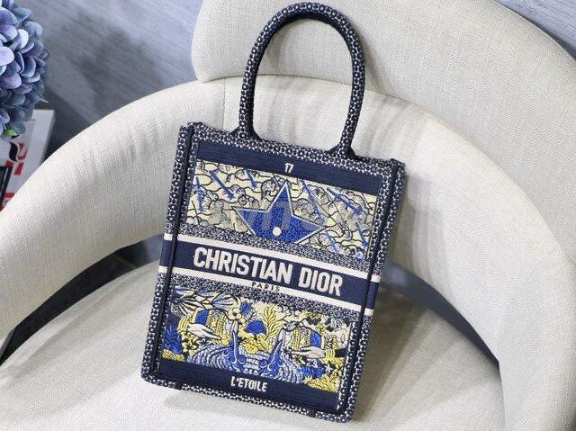 Dior Vertical book tote Bag  - 2