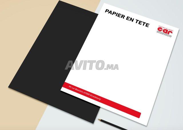 Entête - Flyers - Carte de visite - Ordonnances - 2